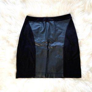 Atmosphere Women's Mini Skirt Black Leather
